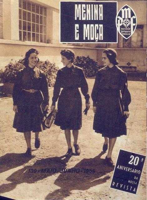 Mocidade Portuguesa Feminina, Nº 139, Junho 1958 - capa