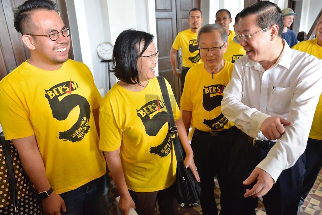 Pelancaran Pameran Bersih 5 Pulau Pinang (10 October 2016)