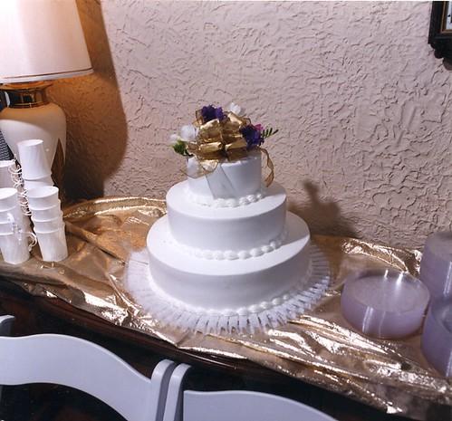 Cheesecake Wedding Cake Utah
