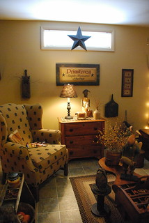 Primitive Living Room | by A Storybook Life