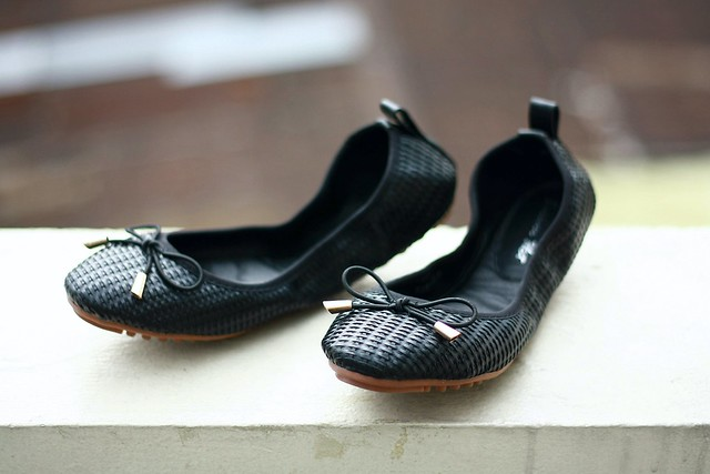 foldable flats, black flats, shoes, flats