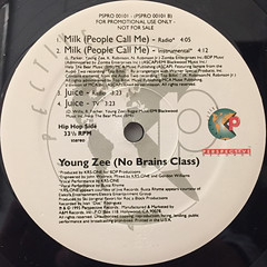 YOUNG ZEE:EVERYBODY GET(LABEL SIDE-B)