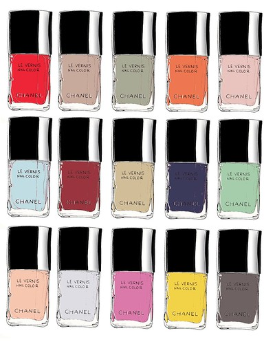 My favorite Chanel nail polish colors | by samlovesherdog