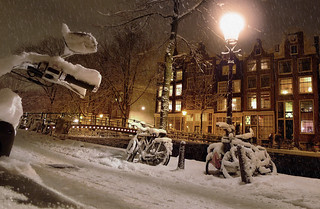 Amsterdam ready for a white Christmas | by B℮n