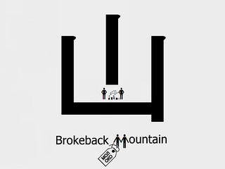 New Chinese Character - Brokeback Mountain | by МОЛОКО