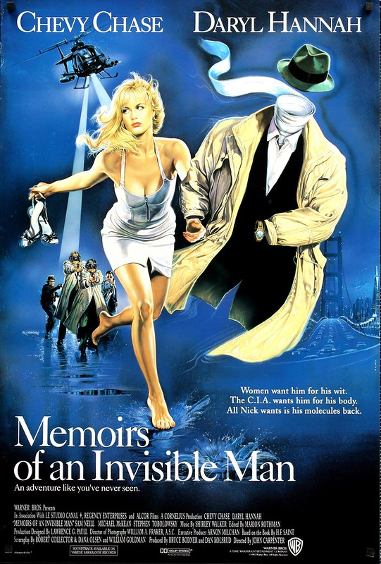 Memoirs of an Invisible Man - Poster 1