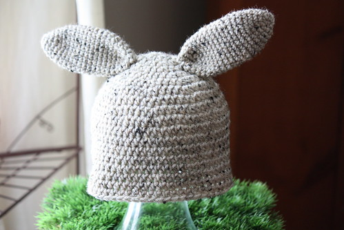 bunny hat | by mysparetimedesign