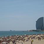 Playa Sant Sebastià, foto de Gabriela Angulo