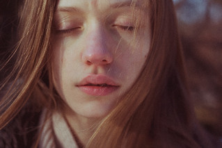 sunset with Joanna | by laura makabresku