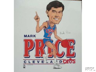 Mark Price Cartoon | by Cavs History