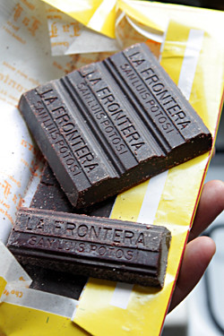 La Frontera chocolate | by David Lebovitz