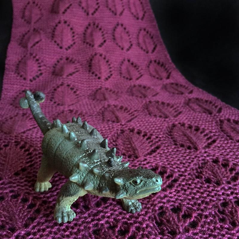 Ankylosaurus Shawl