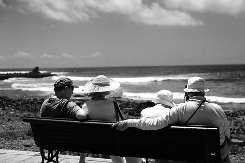 Face à la mer - Playa de las Americas - Tenerife - Canaries