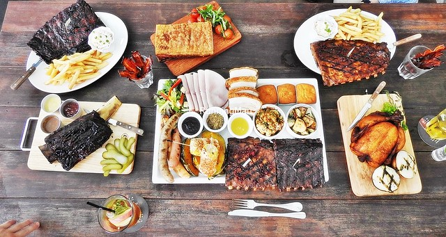 Morganfield's Christmas Feast 2016 Flat Lay