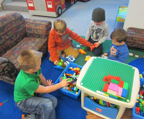 duplos at the library
