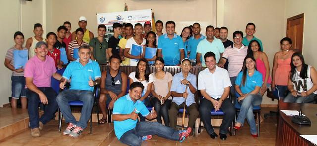 Reunião da Juventude Progressista em Capixaba