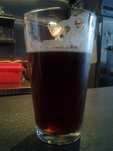 Oliver's 3 Lions Brown Ale @spacebar