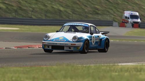 Porsche 911 Carrea RSR - Tebernum - Clemenz Schickentanz - DRM 1975