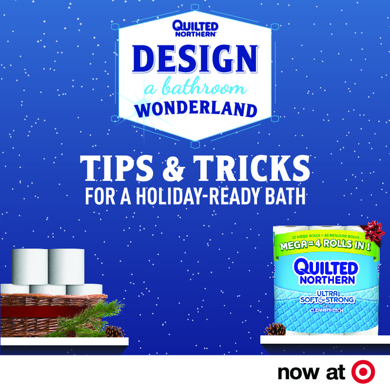 Quilted Northern Mega Roll at Target #QuiltedHoliday : quilted northern target - Adamdwight.com