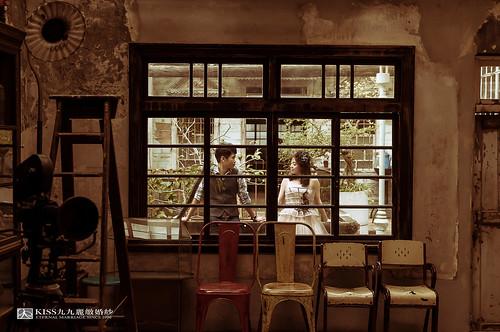 [高雄婚紗推薦]Kiss九九為我和歐爸拍出唯美又韓風的婚紗照 (5)