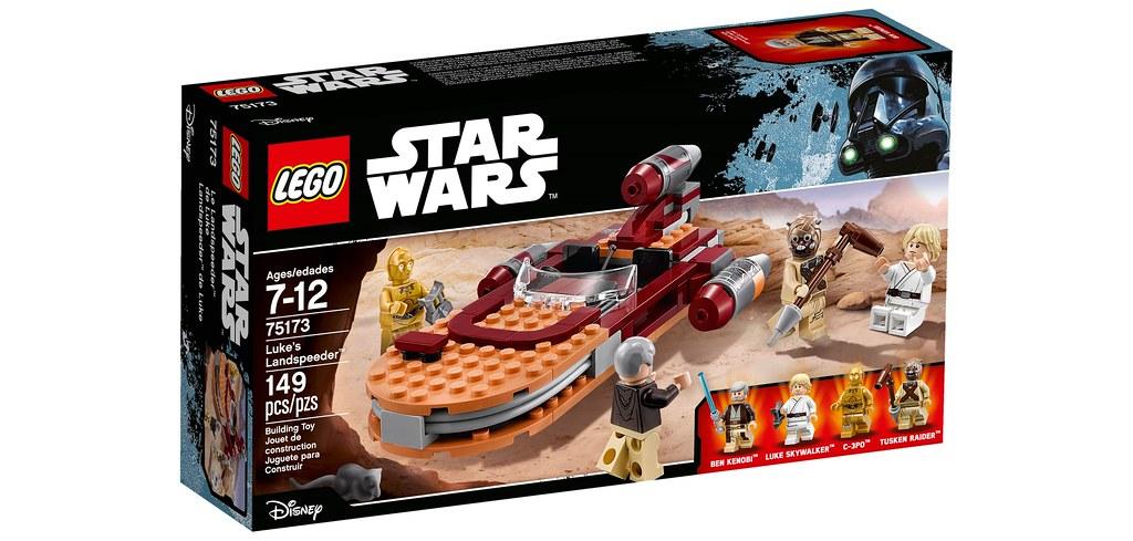 LEGO Star Wars 75173 - Luke's Landspeeder