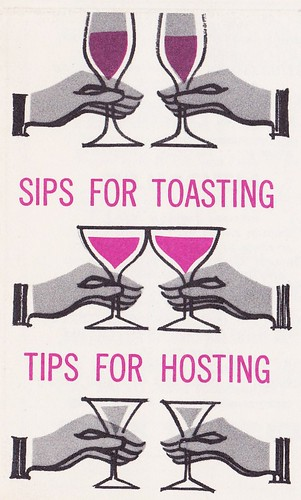 Sips For Toasting... Tips For Hosting... 1964 | by hmdavid