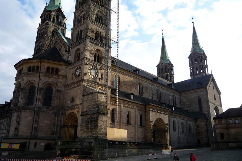 Bamberg. La Catedral con dos ábsides