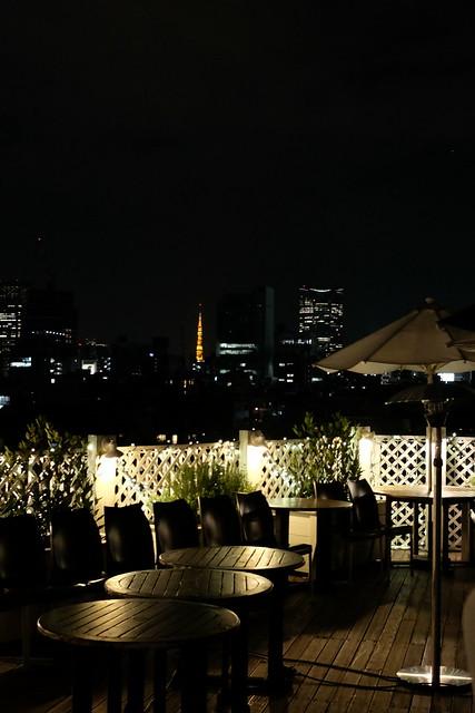 Tokyo night view from terrace Ristorante Venire Venire 18