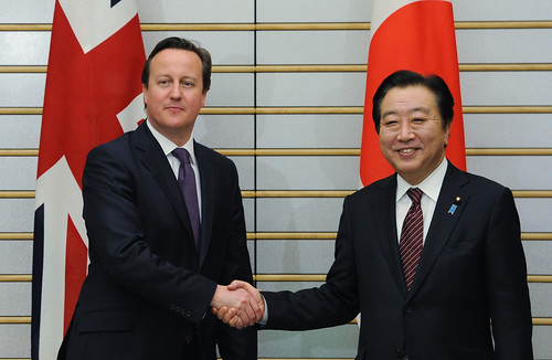 David Cameron meets with Japanese Prime Minister Yoshihiko Noda | by The Prime Minister's Office