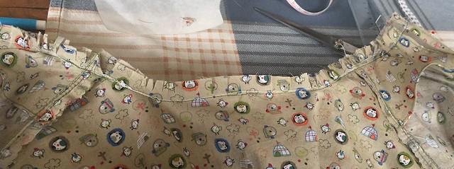 Sewing collar stand shirtmaking