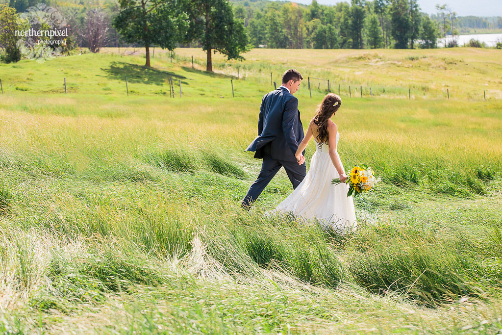 Farm Wedding - Smithers British Columbia