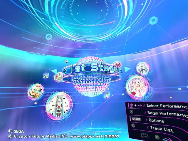 Stage 1 Hatsune Miku VR Future Live