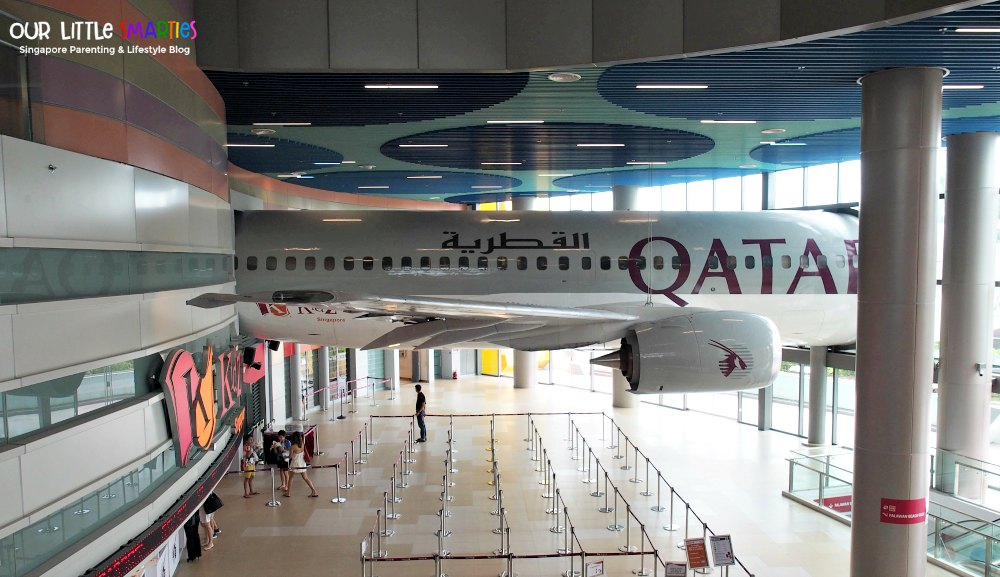 Kidzania Singapore Qatar Airways