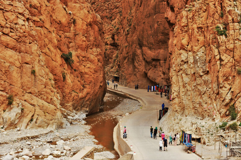 Oasis de Tirnerhir y la Garganta del Todra