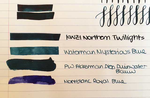 Ink Shot Review KWZI Northern Twilights for @ScriptusToronto 2016 6