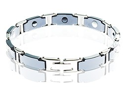 BRACELET CRYSTAL BLACK (MAN) 194MM