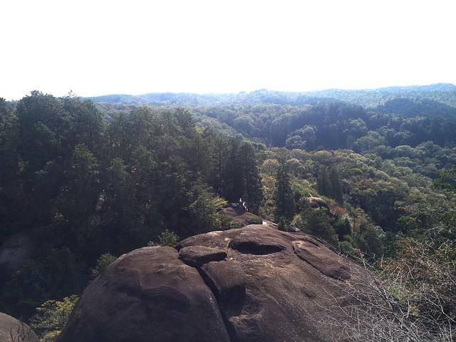鬼岩公園 蓮華岩からの眺望