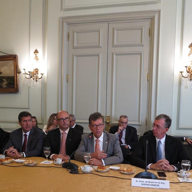 Missão à Argentina: Recepção da Comitiva CNC no Palácio San Martin