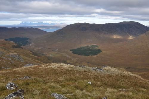 Beinn na Caillich from Sgurr Coire Choinnichean