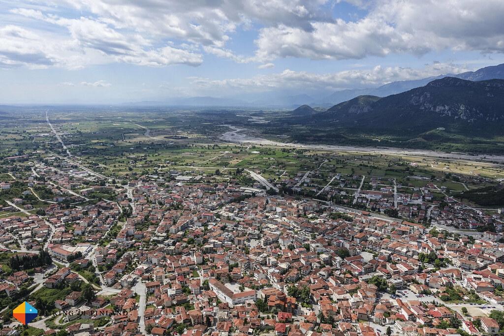 View over Kalambaka