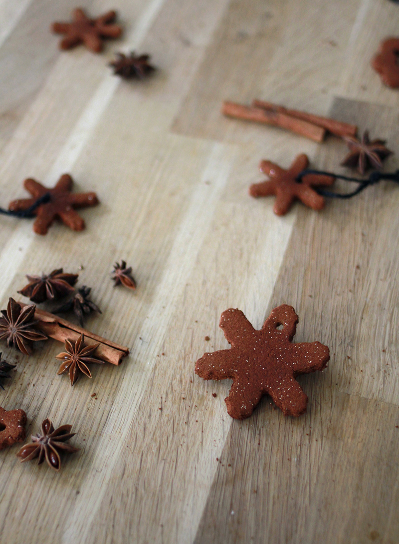 DIY cinnamon ornaments | AMM blog
