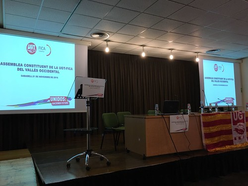 Assemblea Constituent UGT-FICA del Vallès Occidental