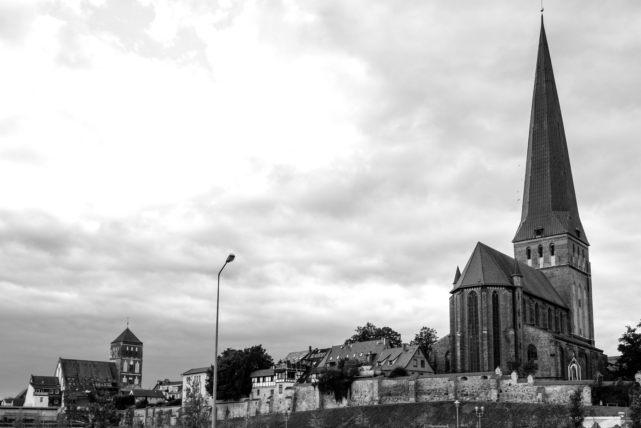 Two Churches in Rostock
