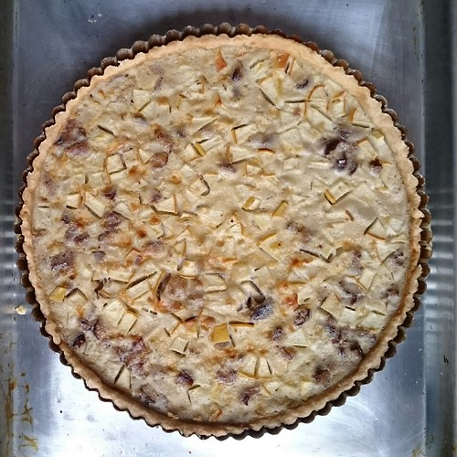 Chestnut and Pear Tart