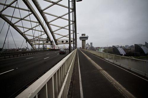 Rotterdam Cycle Track on Bridge_2 | by Mikael Colville-Andersen