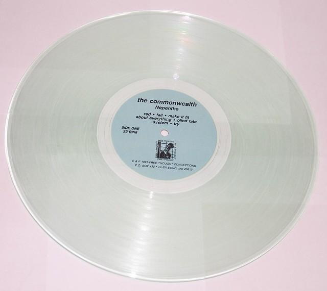 "COMMONWEALTH NEPENTHE TRANSPARENT 12"" VINYL LP"