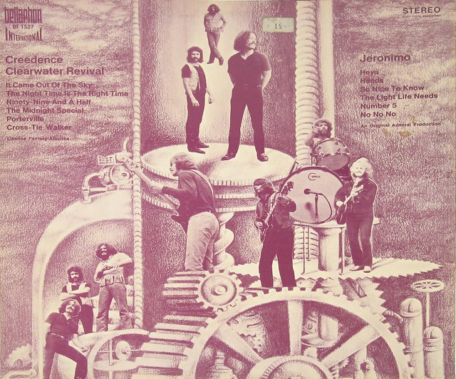 Jeronimo & Creedence Clearwater Revival Spirit Orgaszmus Pink Vinyl + Poster