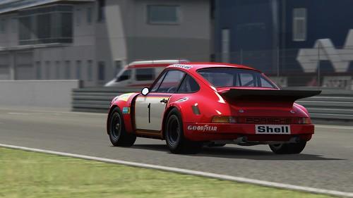Porsche 911 RSR - Gelo Racing - John Fitzpatrick - European GT 1975
