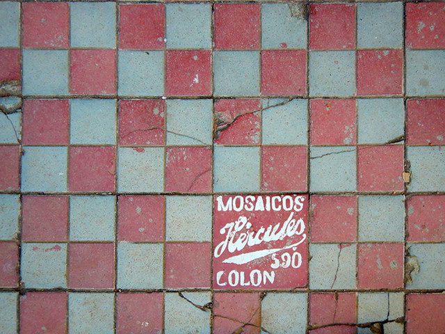 Floor tiles in Talpa, one of Mexico's Pueblos Magicos in the Pacific high sierras