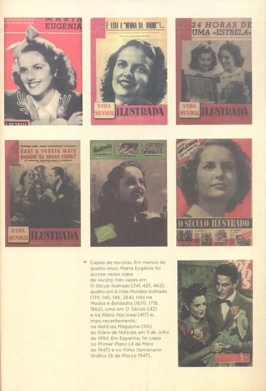 Maria Eugénia, revistas, 1940s